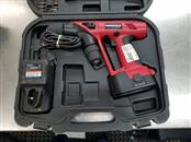 MANSFIELD CORDLESS DRILL WITH BATTERY & CHARGER & CASE & DRILL BITS